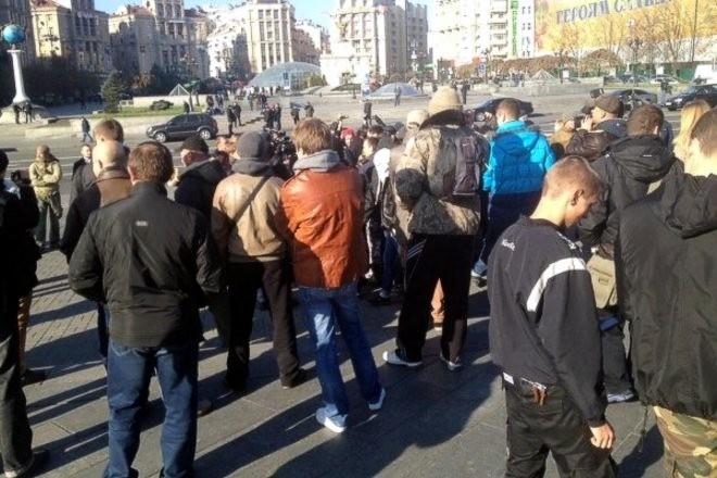 На «Славянский марш» в Киеве никто не пришел
