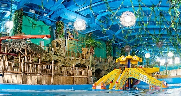 В Киеве открылся первый аквапарк