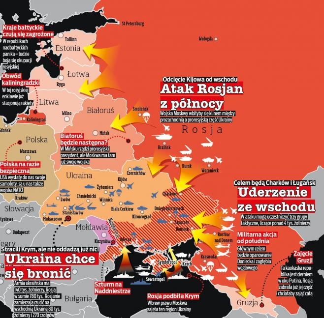 Fakt: Карта войны в Европе