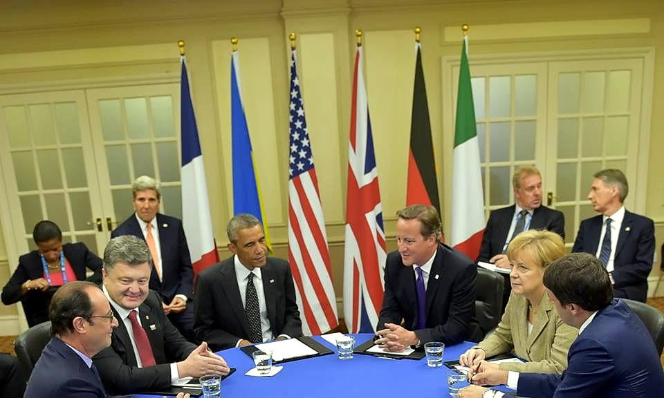 Порошенко: Украина получила поддержку стран-членов НАТО