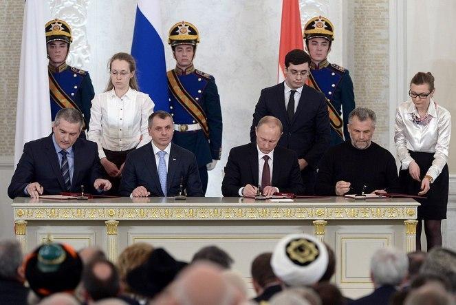 5 лет назад Кремль начал процедуру аннексии украинского Крыма