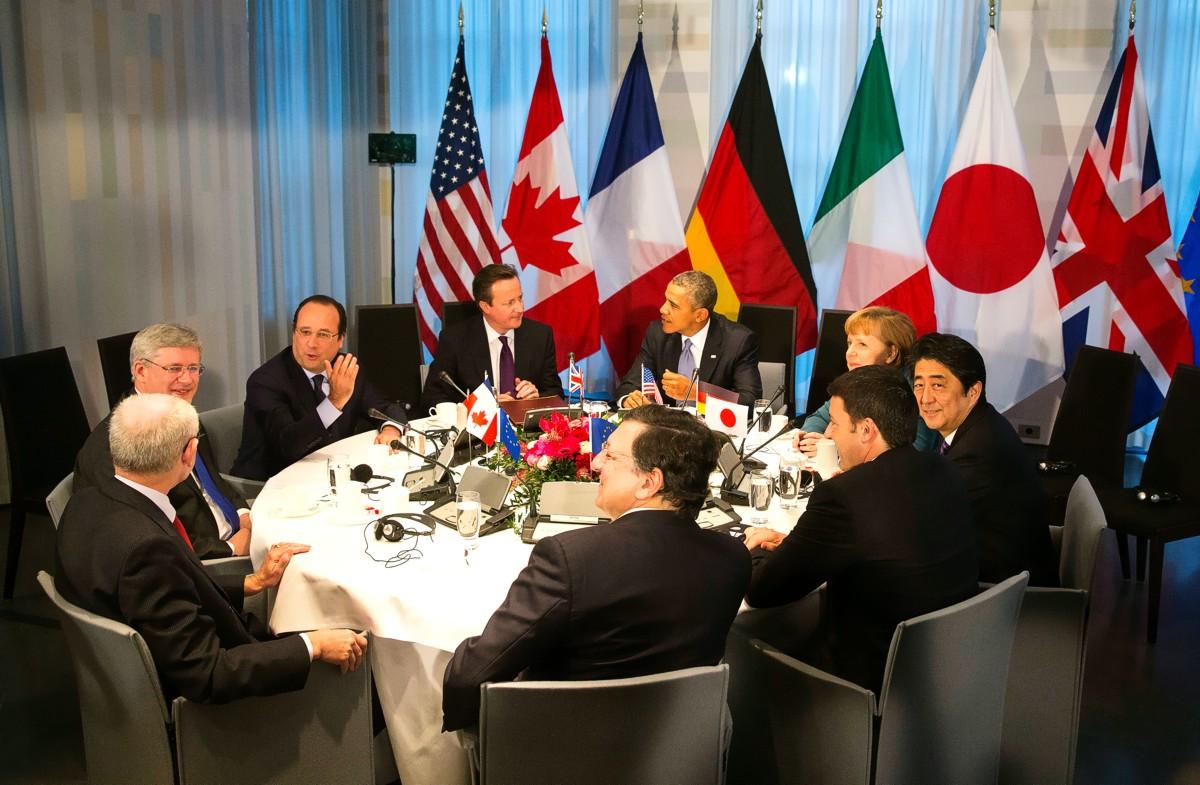 Участники саммита G7 поддержали продление санкций против России