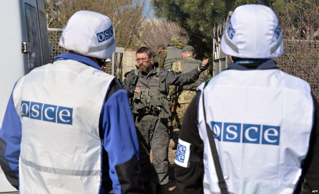 РФ видит вооруженную миссию ОБСЕ не на границе, а на линии фронта