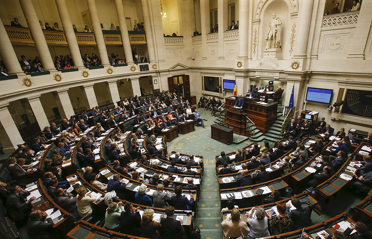 Парламент Бельгии рассмотрит резолюцию оботмене санкцийЕС противРФ