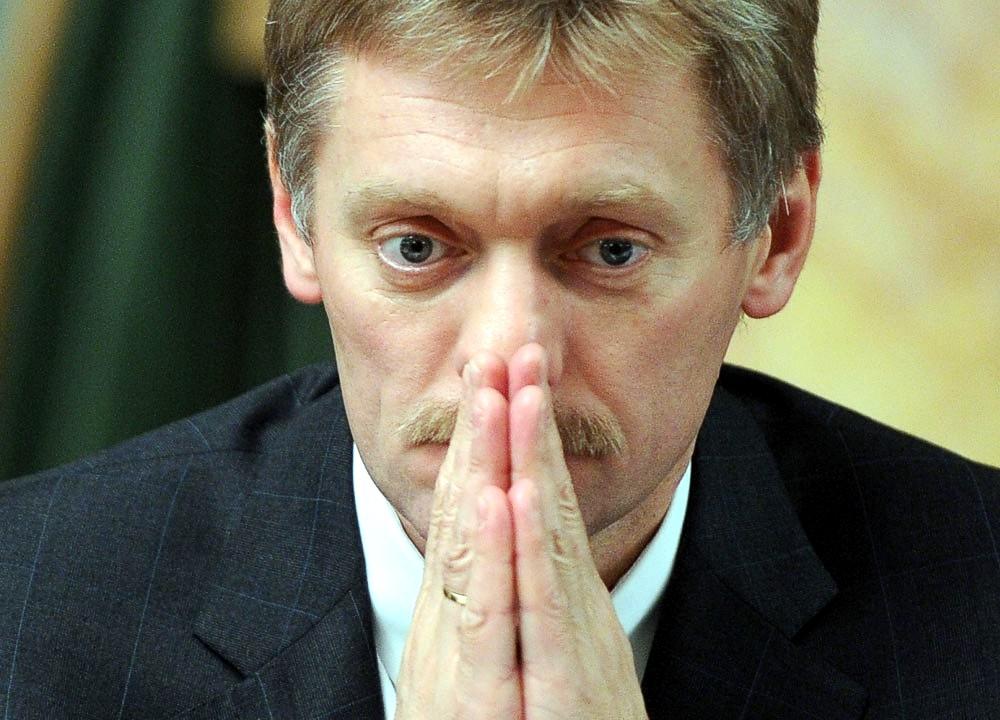 Песков поведал, как Москва отреагирует напоявление вКиеве проспекта Бандеры
