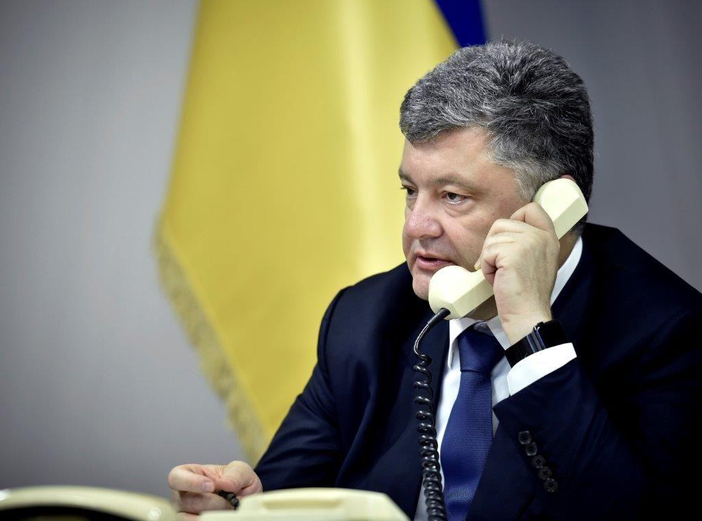 Порошенко подчеркнул значимость ввода вДонбасс миротворческой миссии ООН