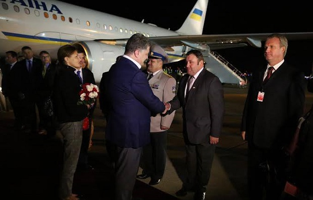 Порошенко прибыл в Канаду с рабочим визитом