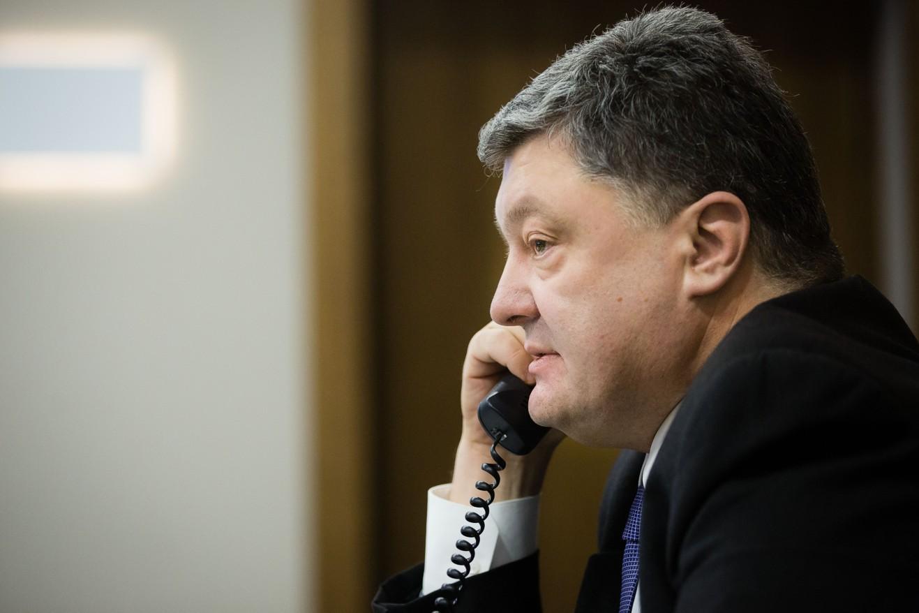 Порошенко хочет поговорить с Путиным