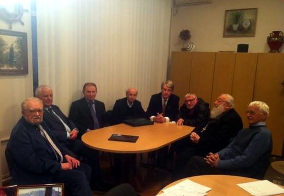 Экс-президенты Украины встретились с членами инициативной группы «Первое декабря»