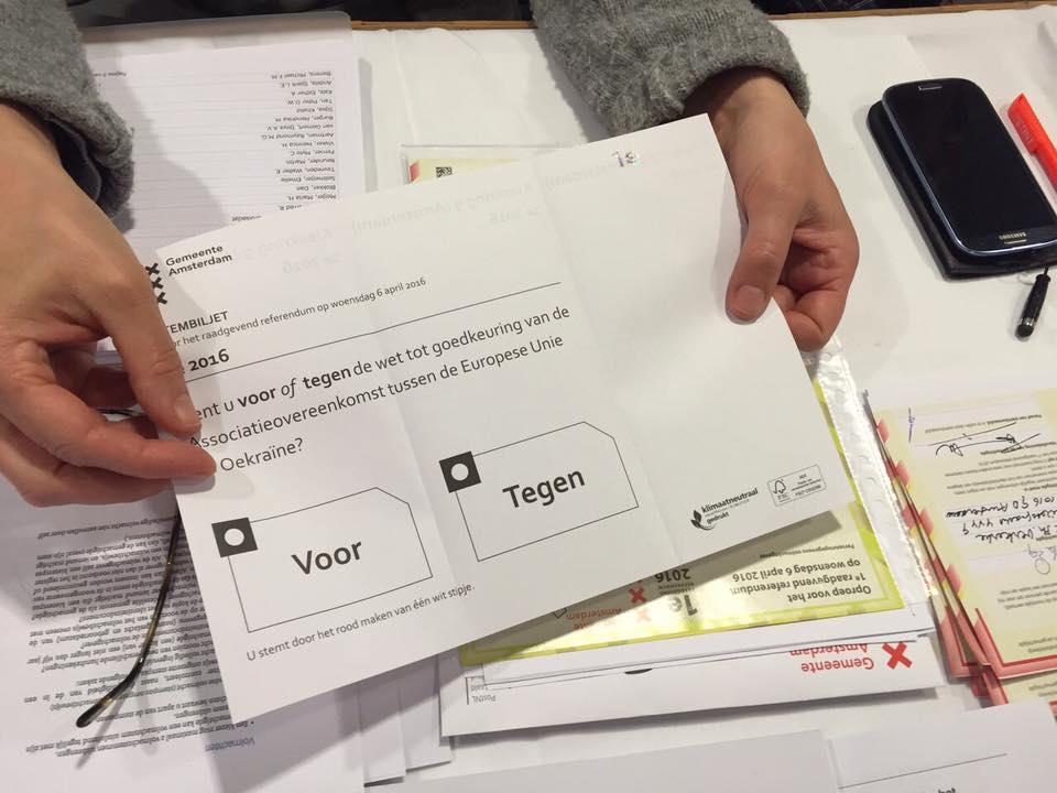 Референдум в Нидерландах: на стороне Украины сыграла погода