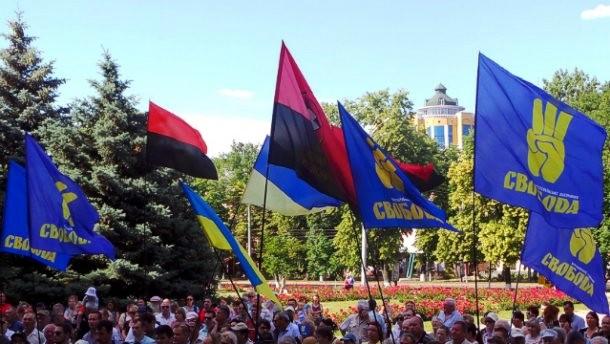 «Свобода» и «Правый сектор» вместе пойдут на выборы