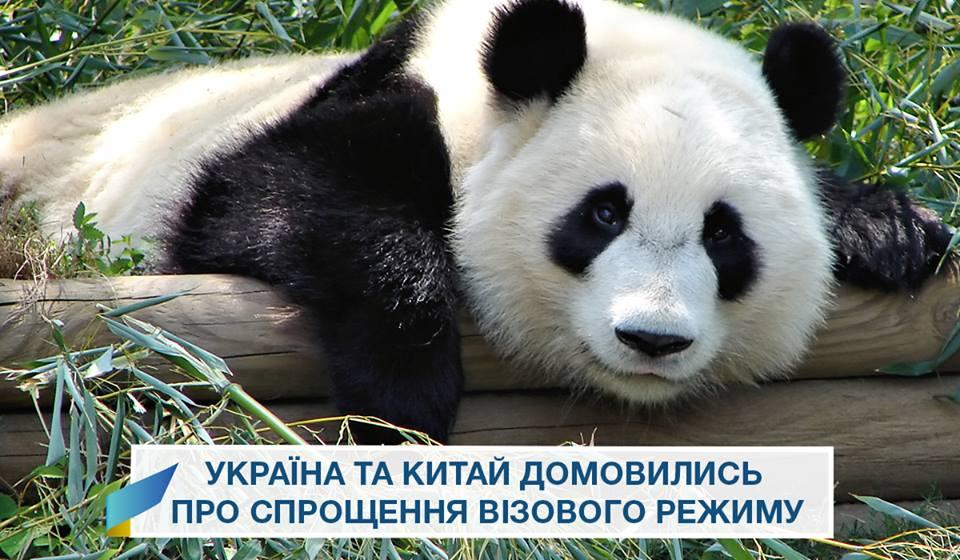 Украина и Китай договорились об упрощении визового режима