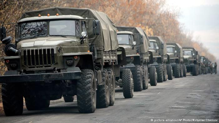 ОБСЕ: На Донбассе перевозят тяжелое вооружение