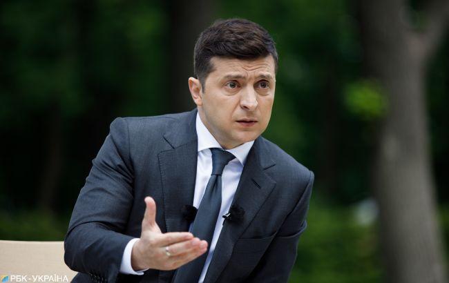 Зеленский намерен просить Байдена вмешаться в ситуацию с «Северным потоком-2»