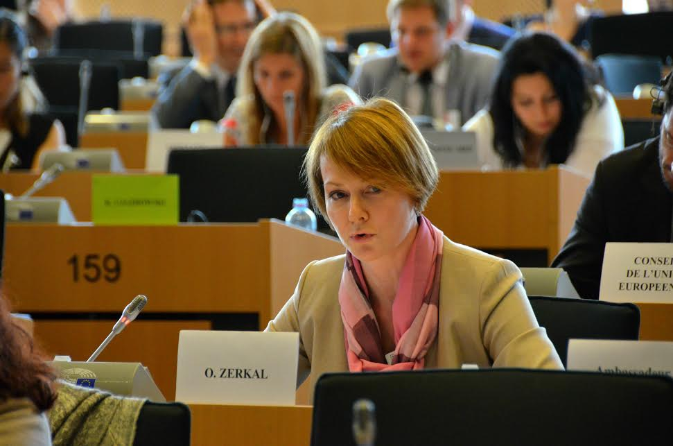 Комитет Европарламента утвердил отчет поГрузии