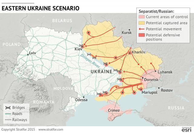 Аналитики США назвали сценарии возможной оккупации Украины
