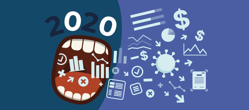 В 2020 году открылось на 20% меньше предприятий и на 5% меньше ФЛП