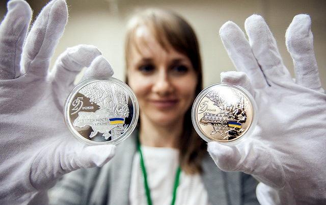НБУ хочет провести публичные аукционы попродаже золотых памятных монет