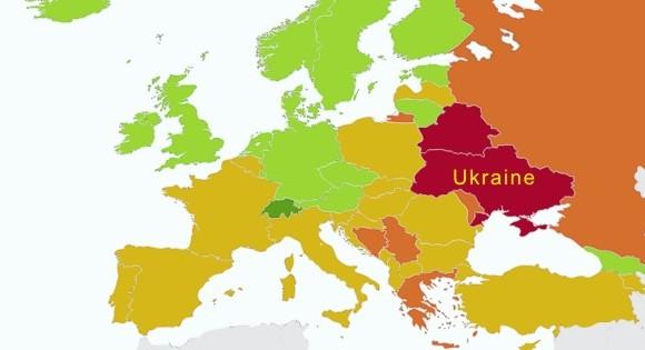 Рейтинг экономических свобод: Украина признана страной с несвободной экономикой