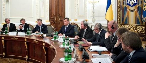 Янукович: К 2020 году Украина будет полностью обеспечивать себя газом