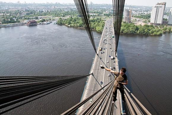 В столице пройдет выставка экстремальных фото Киева