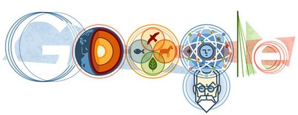 Логотип Google изменился в честь 150-летия академика Вернадского