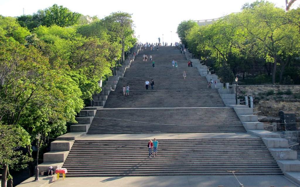 Потёмкинская лестница в одессе фото