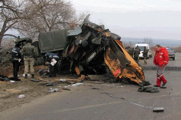В результате ДТП на Луганщине 2 человека погибли, 8 ранены