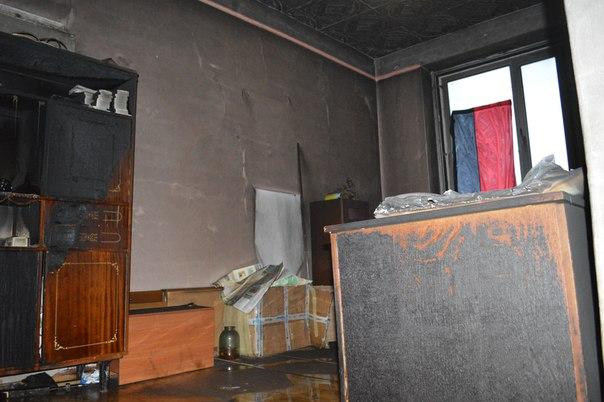 Поджог офиса «Правого сектора»: опубликованы фото
