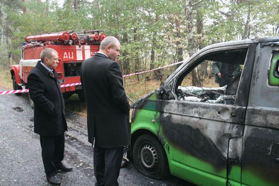Нападение на инкассаторскую машину «Приватбанка»: трое погибших