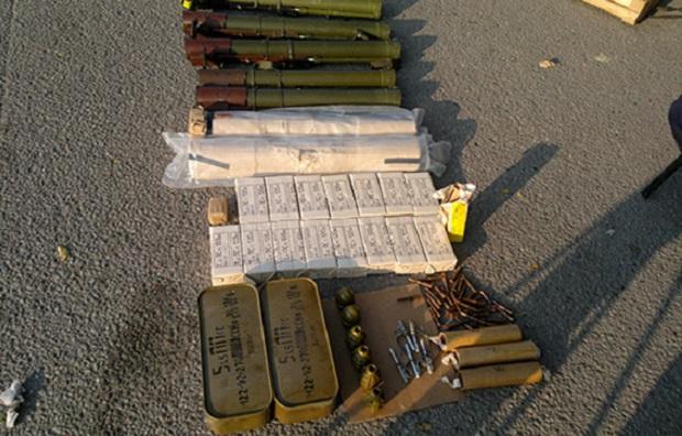 Еще два арсенала оружия обнаружили сотрудники СБУ в зоне АТО