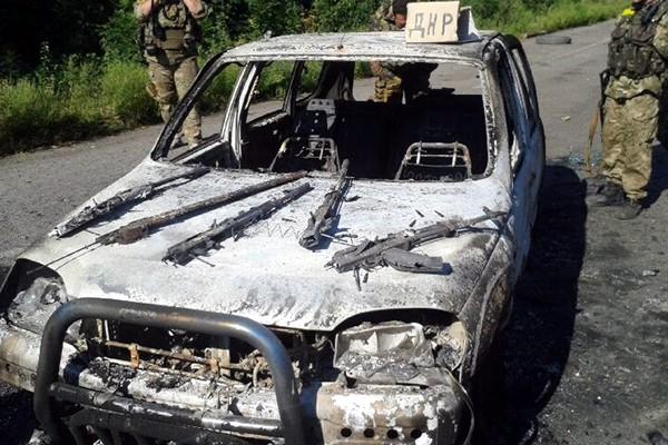 Россияне пытались доставить оружие в зону АТО