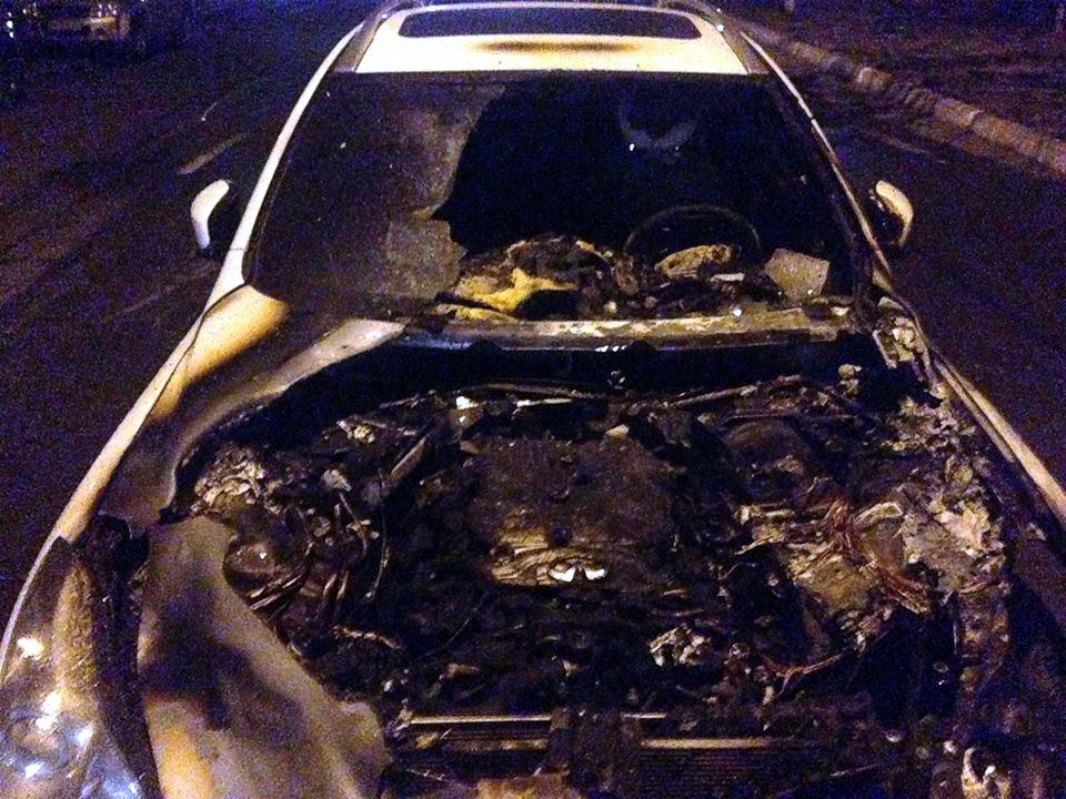 Пресс-секретарю Виталия Кличко сожгли автомобиль