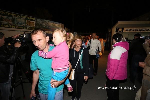 На Камчатку прибыла первая группа беженцев с Донбасса