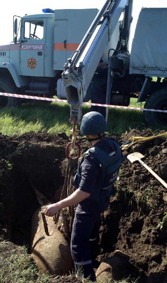 Эхо войны: В Крыму найдены и уничтожены две крупных немецких бомбы