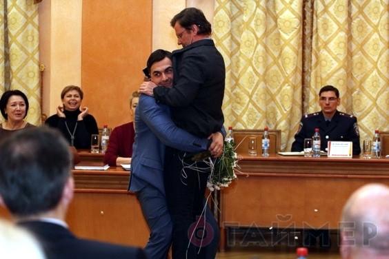 Заместителя Саакашвили поносили на руках