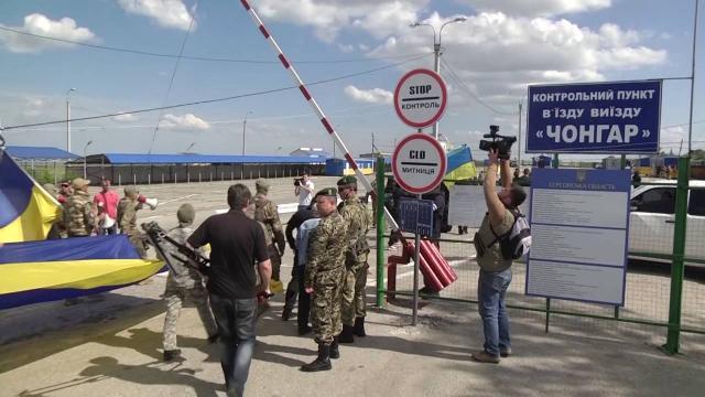 СБУ передала озадержании награнице сКрымом доверенного лица В. Путина