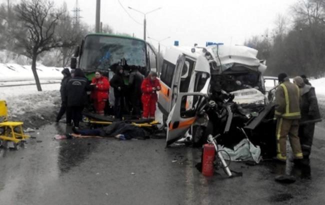 Увеличилось число жертв ДТП в Харькове: Умер ребенок