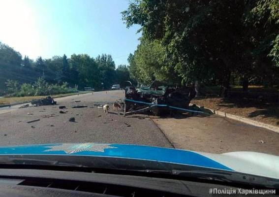 Смерть в прямом эфире: Две девушки погибли в ДТП на Харьковщине