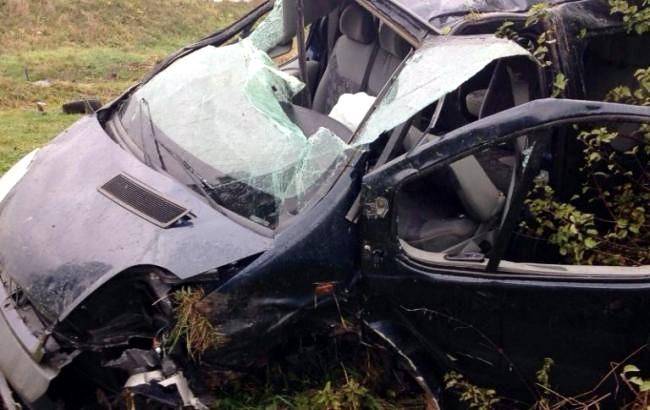В ДТП на трассе Киев–Чоп пострадало 7 граждан Словакии