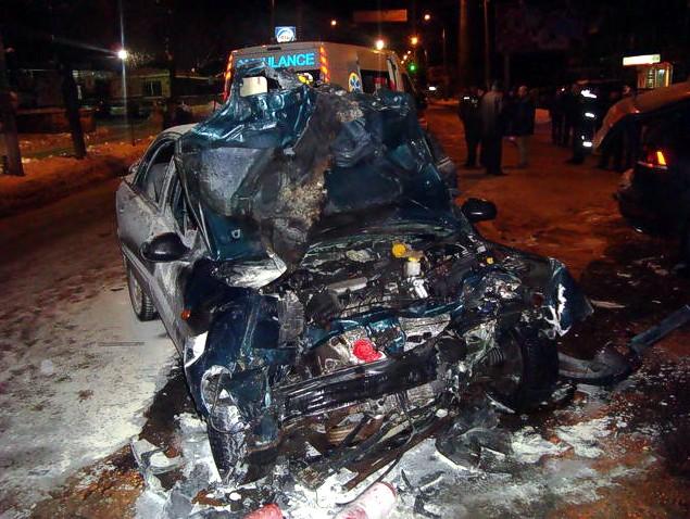 Сын Луценко попал в аварию. Другой участник ДТП погиб