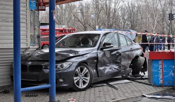 Трагическое ДТП в Днепропетровске: погибли 5 человек