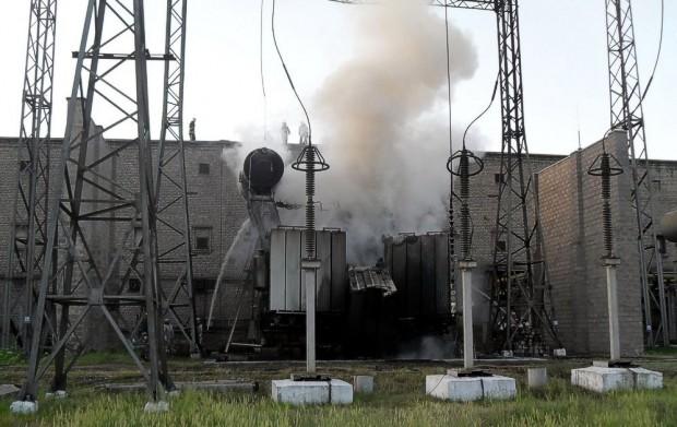 Стахановский завод ферросплавов возобновил свою работу