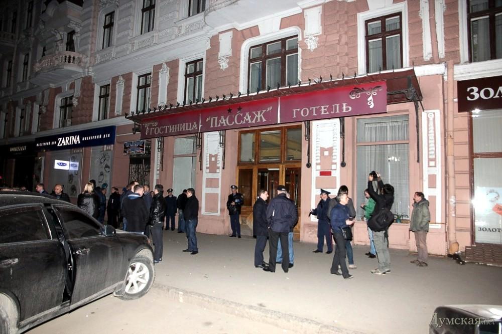Убиты директор одесского отеля «Пассаж» и его телохранитель