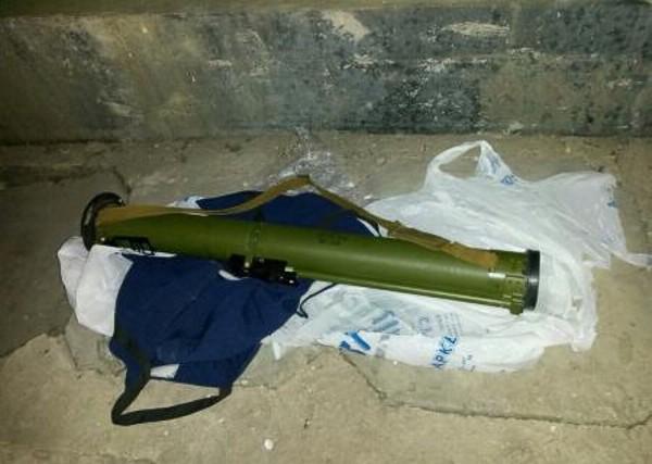 На трассе проезда кортежа Яценюка обнаружили гранатомет