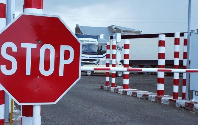 В России заблокировали более 150 украинских фур
