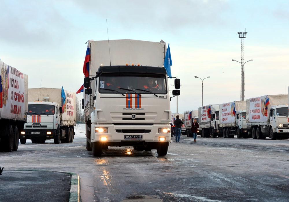 48-й российский «гумконвой» вторгся в Украину