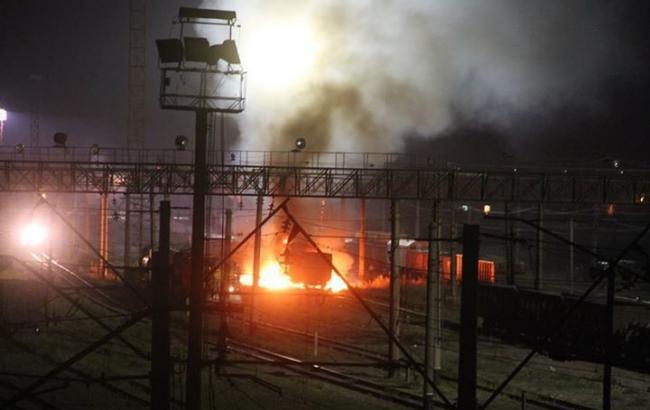 В Харькове взорвали цистерну с топливом для ВСУ