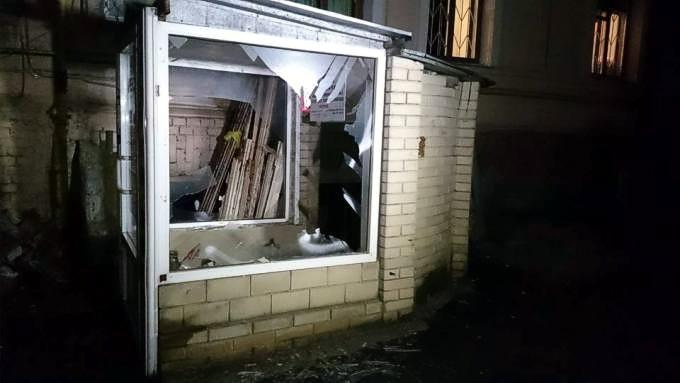В Харькове очередной теракт: взорвали магазин волонтера АТО