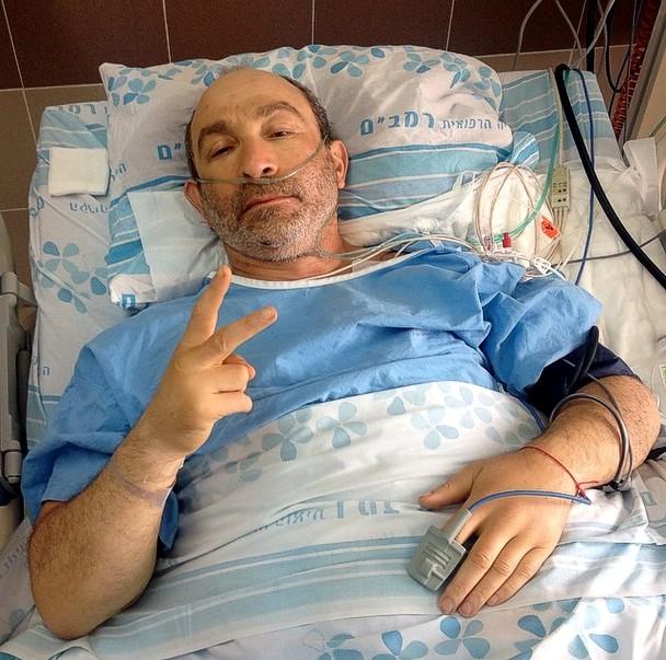 Кернес опубликовал фото из израильской больницы